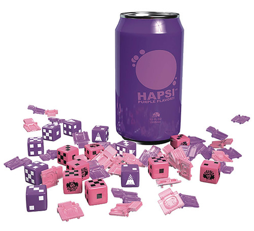 GKR: Heavy Hitters Hapsi Cans Board Game Dice Accessory [Purple Flavor] (Pre-Order ships February)