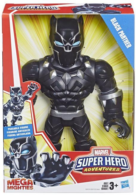 Marvel Playskool Heroes Super Hero Adventures Mega Mighties Black Panther Action Figure