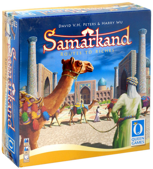 Samarkand Routes to Riches Board Game