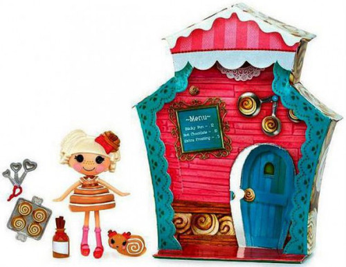 Lalaloopsy Mini Sweet Shop Bun Bun Sticky Icing Mini Figure Playset