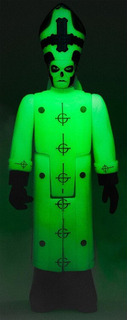 ReAction Ghost Papa Emeritus III Action Figure [Glow-in-the-Dark]