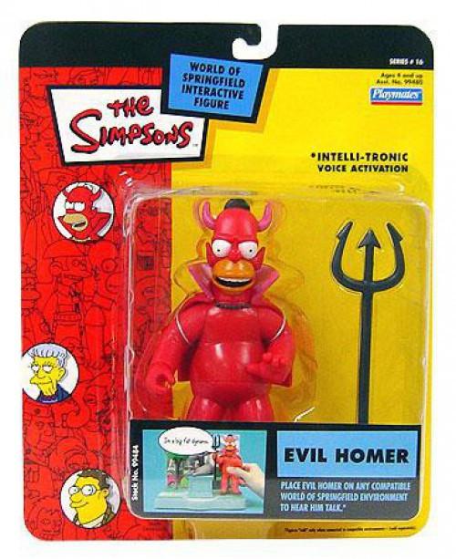 The Simpsons Series 16 Homer Simpson Action Figure [Evil]