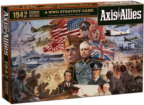 Axis & Allies 1942 Second Edition Board Game