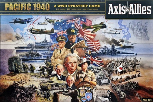 Axis & Allies Pacific 1940 Board Game