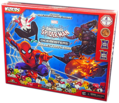 Marvel Dice Masters The Amazing Spider-Man Collector's Box