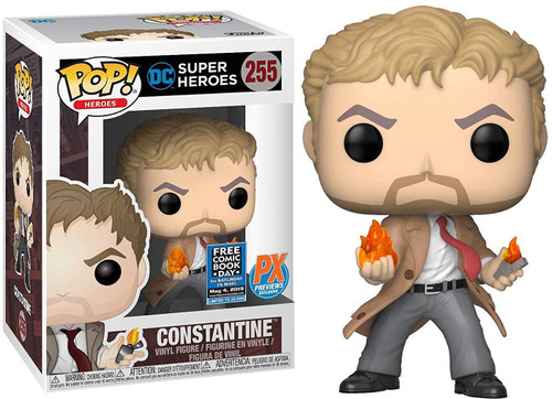 Funko DC Super Heroes POP! Heroes Constantine Exclusive Vinyl Figure #255