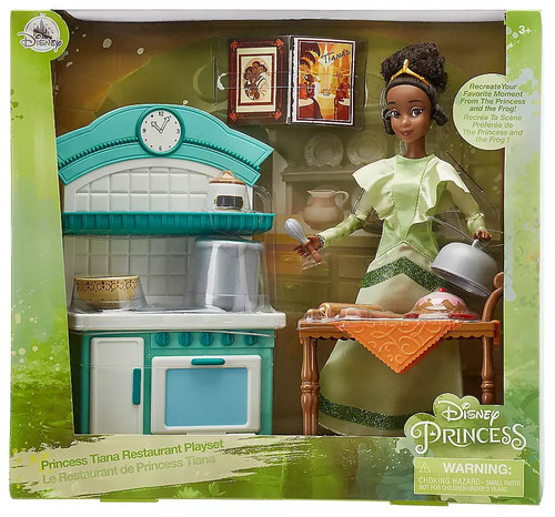 Disney The Princess and the Frog Princess Tiana Restaurant Exclusive Playset
