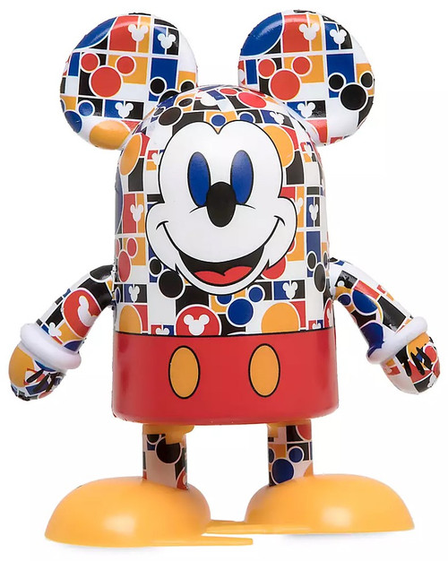 Disney Mickey Mouse Memories Shufflerz Mickey Mouse Exclusive Walking Figure [Colorful Icon pattern]