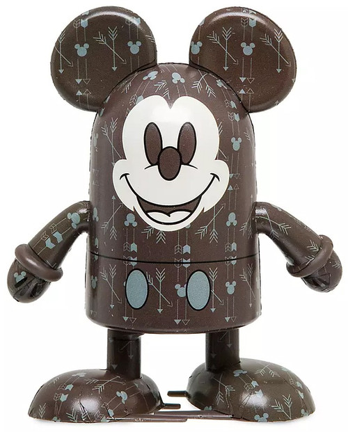 Disney Mickey Mouse Memories Shufflerz Mickey Mouse Exclusive Walking Figure #11/12 [Mouse-icon-and-arrows Pattern]