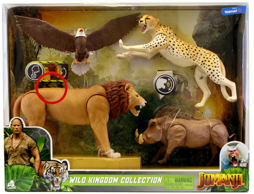 Jumanji Wild Kingdom Collection Exclusive Figure 4-Pack Set
