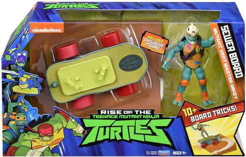 Teenage Mutant Ninja Turtles Nickelodeon Rise of the TMNT Sewer Board with Mutant Vert Master Mikey