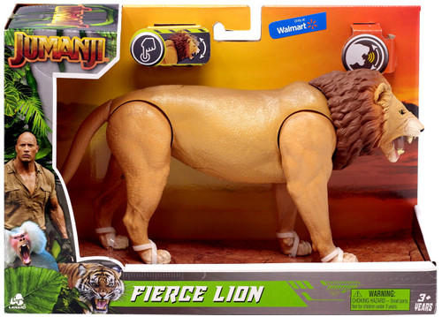 Jumanji Fierce Lion Exclusive Figure with Sound