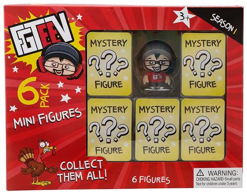 Season 1 FGTeeV Mystery Mini Figure 6-Pack [with Duddy]