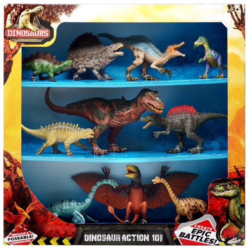 Dinosaurs Dinosaur Action Figure 10-Pack [Version 1]