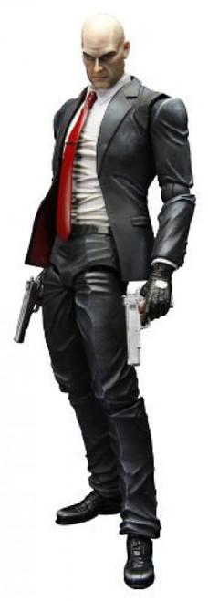 Hitman Absolution Play Arts Kai Agent 47 Action Figure