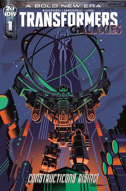 IDW Transformers Galaxies #1 Comic Book [George Caltsoudas Variant Cover]