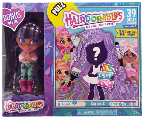 Hairdorables Series 3 Doll Skylar Bonus Bestie 2-Pack