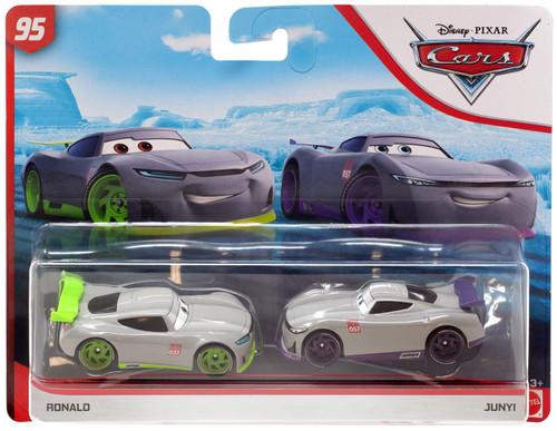 Disney / Pixar Cars Cars 3 Rust-Eze Racing Center Ronald & Junyi Diecast 2-Pack