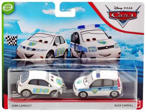 Disney / Pixar Cars Cars 3 WGP Erik Laneley & Alex Carvill Diecast 2-Pack [Version 2]