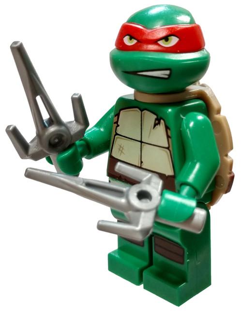LEGO Teenage Mutant Ninja Turtles Raphael Minifigure [Gritted Teeth Loose]