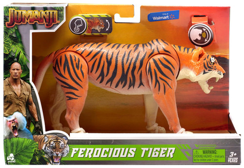 Jumanji Ferocious Tiger Exclusive Figure with Sound