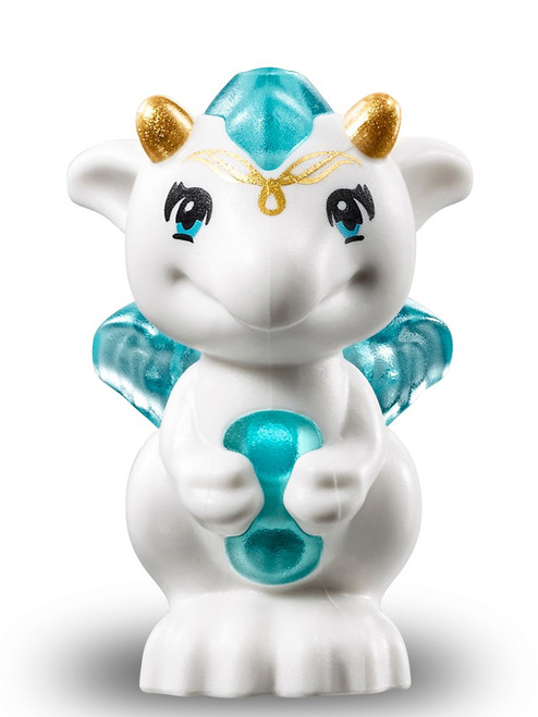 LEGO Elves Baby Dragon with Trans-Light Blue Stomach, Spine and Wings [Estari Loose]