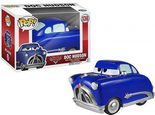 Funko Cars POP! Disney Doc Hudson Vinyl Figure #130 [Damaged Package]