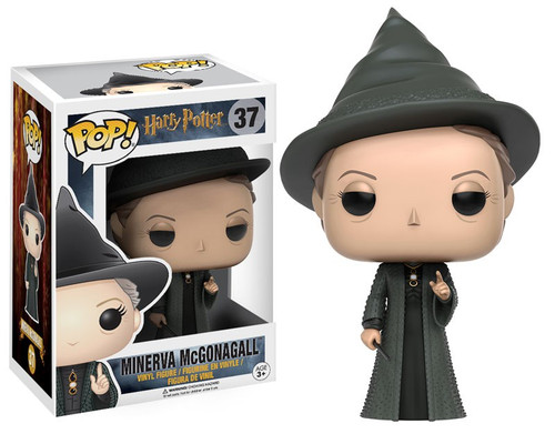 Funko Harry Potter POP! Movies Minerva McGonagall Vinyl Figure #37 [Damaged Package]
