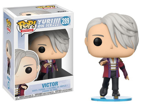 Funko Yuri on Ice POP! Animation Victor Vinyl Figure #289 [Damaged Package]