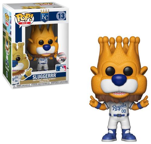 Funko MLB Kansas City Royals POP! Sports Baseball Sluggerrr Vinyl Figure [Mascot, Damaged Package]