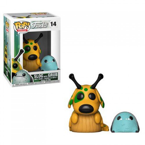 Funko Wetmore Forest POP! Monsters Slog with Grub Vinyl Figure #14 [Regular Version, Damaged Package]