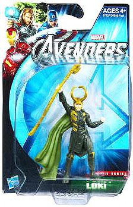 Marvel Avengers Movie Series Loki Action Figure [Damaged Package]