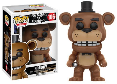 Funko Five Nights at Freddy's POP! Games Freddy Vinyl Figure #106 [Damaged Package]