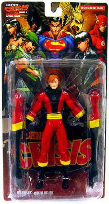 DC Identity Crisis Series 2 Elongated Man Action Figure [Damaged Package]