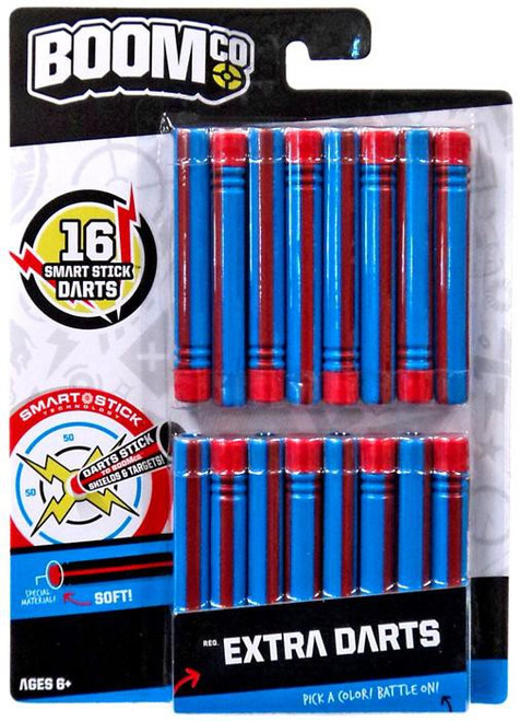 BOOMco Extra Darts Roleplay Toy [Blue & Red Stripe, Damaged Package]