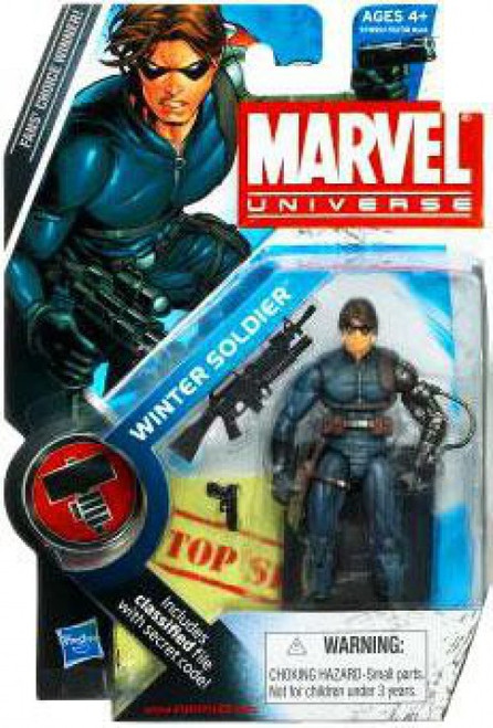 Marvel Universe Series 9 Winter Soldier Action Figure #22 [Damaged Package]