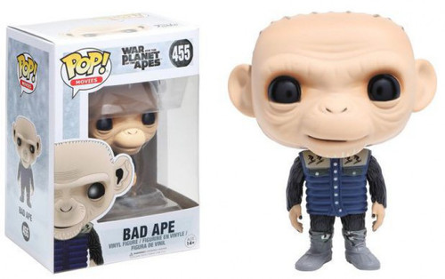 Funko War for the Planet of the Apes POP! Movies Bad Ape Vinyl Figure #455 [Damaged Package]