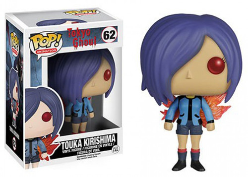 Funko Tokyo Ghoul POP! Anime Touka Kirishima Vinyl Figure #62 [Damaged Package]