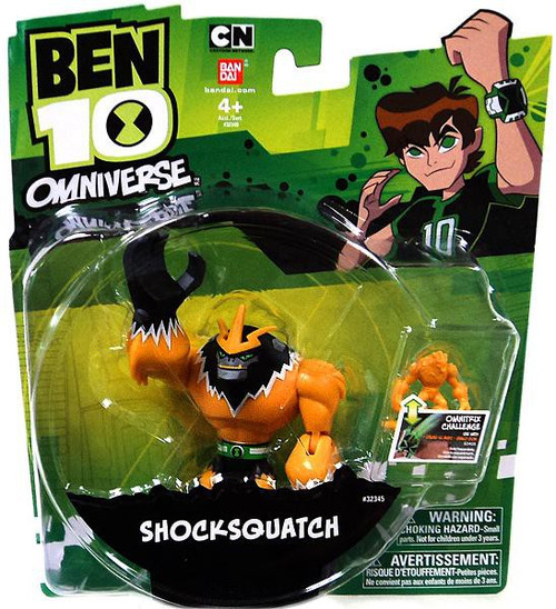 Ben 10 Omniverse Shocksquatch Action Figure [Damaged Package]