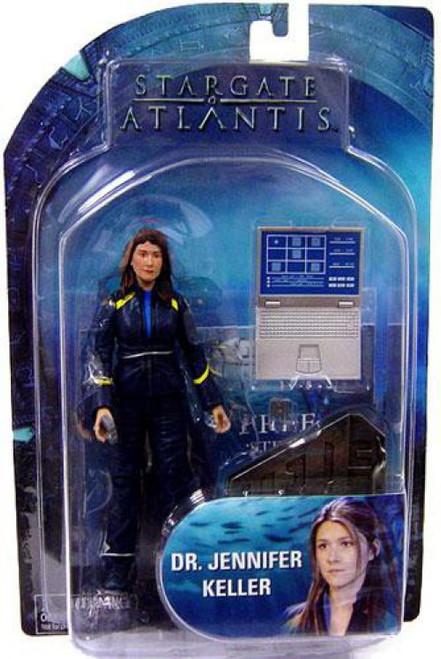 Stargate Atlantis Series 3 Dr. Jennifer Keller Action Figure [Damaged Package]