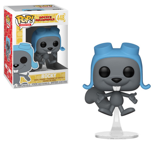 Funko Rocky & Bullwinkle POP! Animation Flying Rocky Vinyl Figure #448 [Damaged Package]