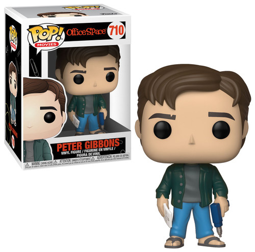 Funko Office Space POP! Movies Peter Gibbons Vinyl Figure #710 [Damaged Package]