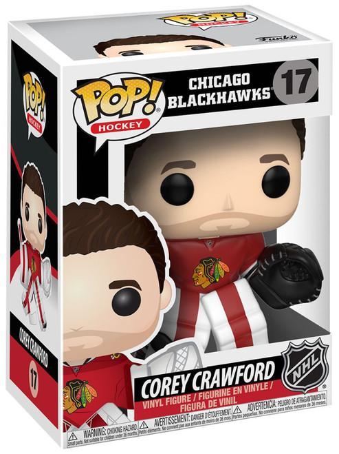 Funko NHL Chicago Blackhawks POP! Sports Hockey Corey Crawford Vinyl Figure #17 [Damaged Package]