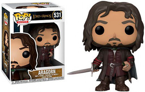 Funko Lord of the Rings POP! Movies Aragorn Vinyl Figure #531 [Damaged Package]