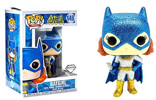 Funko DC POP! Heroes Batgirl Exclusive Vinyl Figure #148 [Diamond Collection, Damaged Package]
