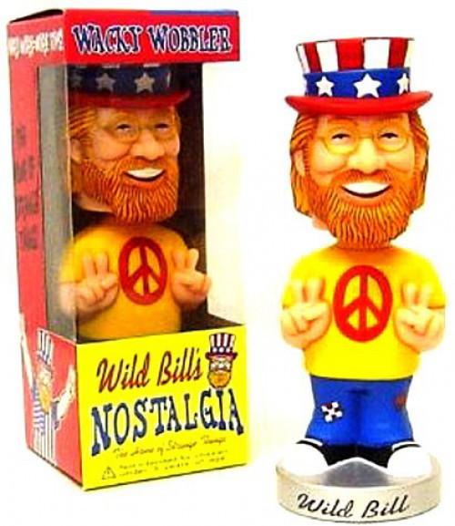 Funko Wild Bill's Nostalgia Wacky Wobbler Wild Bill Exclusive Bobble Head [Damaged Package]
