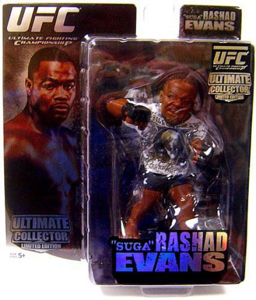 UFC Ultimate Collector Series 1 Rashad Evans Action Figure [Limited Edition, Damaged Package]