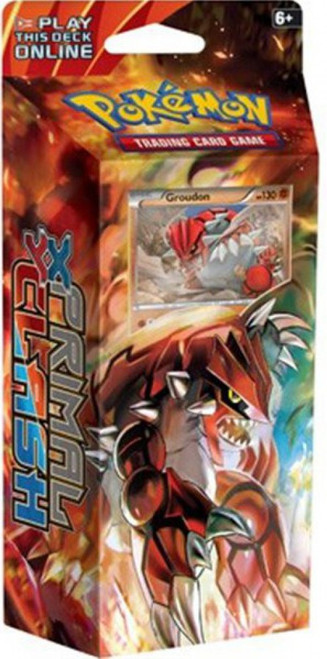 Pokemon Trading Card Game XY Primal Clash Earth's Pulse Theme Deck [Groudon, Damaged Package]