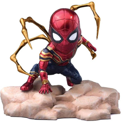 Marvel Avengers Infinity War Mini Egg Attack Iron Spider-Man Action Figure [Damaged Package]