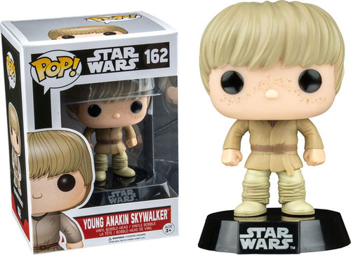 Funko POP! Star Wars Young Anakin Skywalker Exclusive Vinyl Bobble Head #162 [162, Damaged Package]